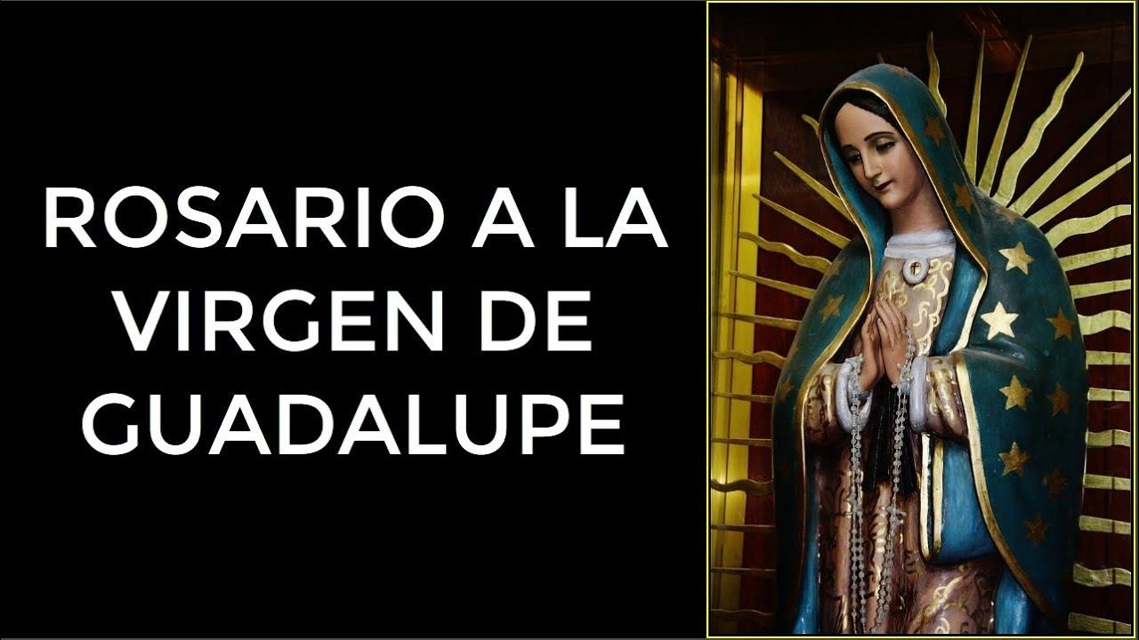 Rosario de la virgen de guadalupe