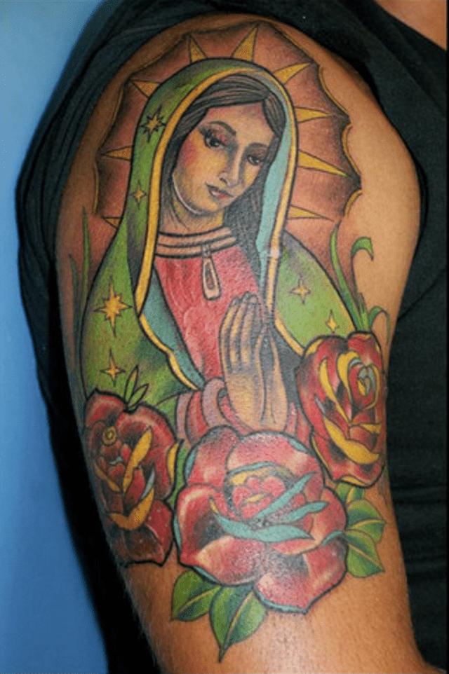 Tatuajes de la virgen de guadalupe